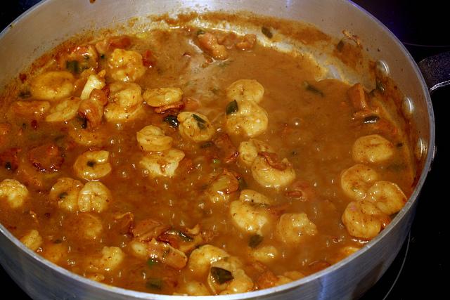 breakfast shrimp gravy 5
