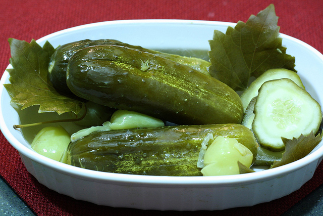 grape leaf pickles